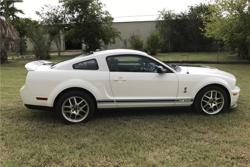 2007 FORD SHELBY GT500 - Side Profile - 210231