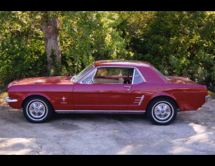 1966 FORD MUSTANG COUPE -  - 21024
