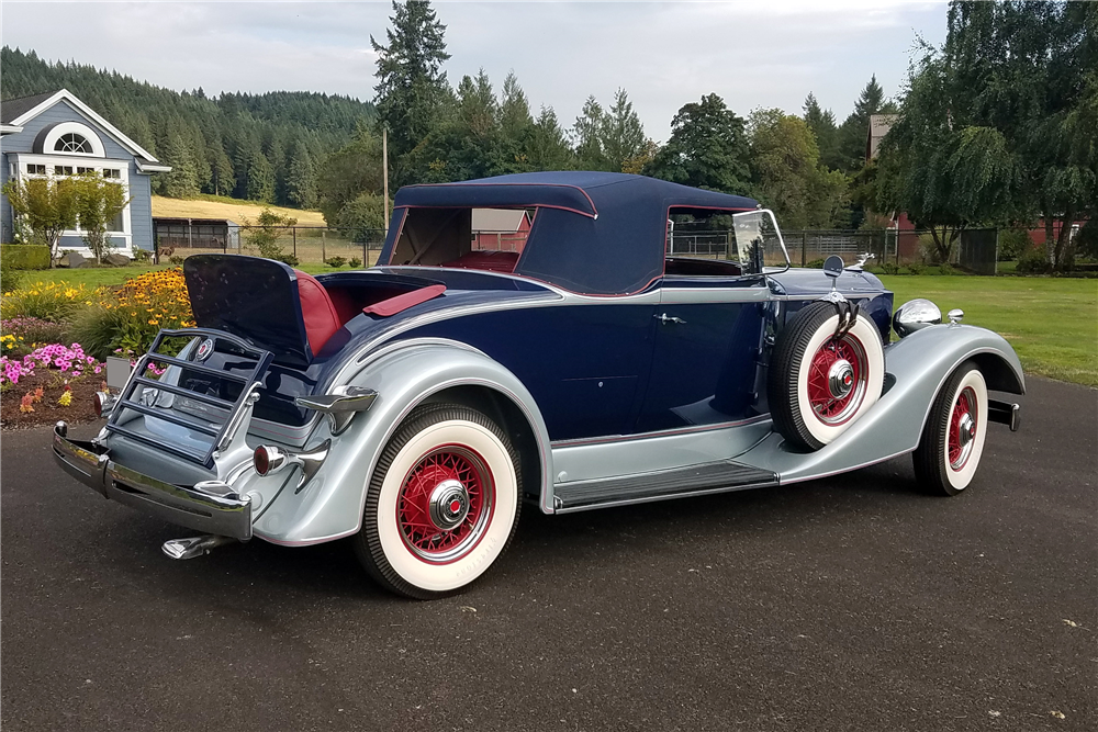 1934 PACKARD 1101 CABRIOLET - Misc 1 - 210385