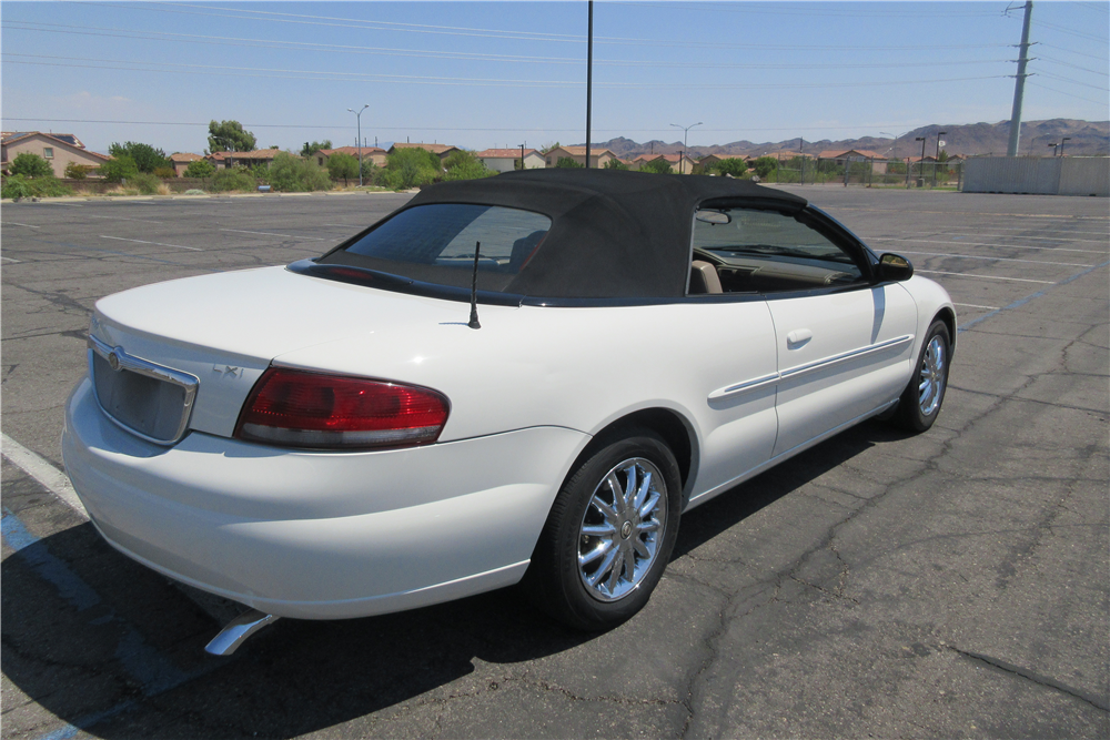 2002 CHRYSLER SEBRING CONVERTIBLE  210400