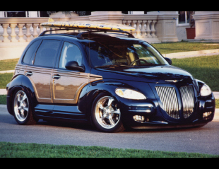2001 CHRYSLER PT CRUISER CUSTOM WOODY BEACH CRUISER -  - 21044