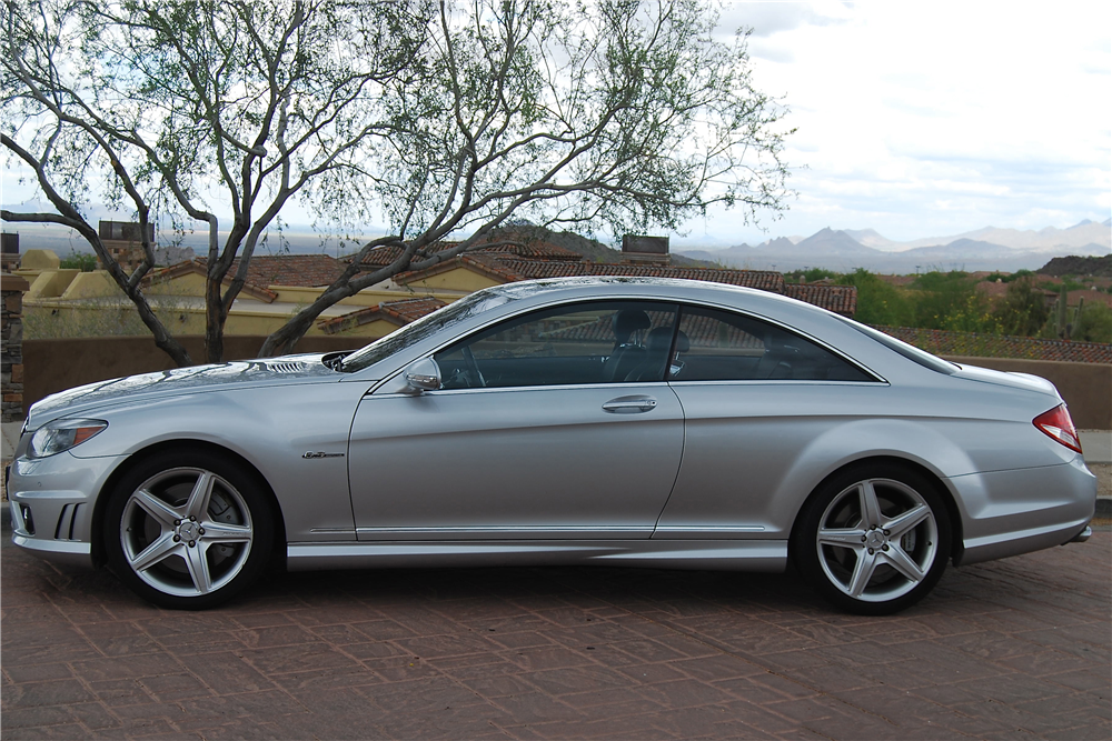 2008 MERCEDES-BENZ CL63 AMG - Side Profile - 210457