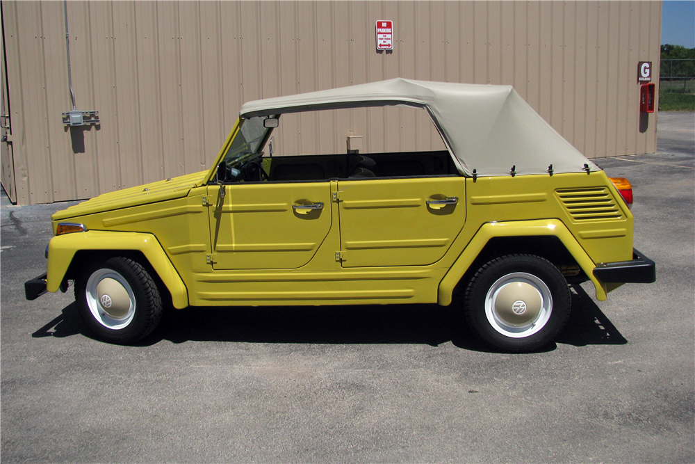 1973 VOLKSWAGEN THING CONVERTIBLE - Side Profile - 210459