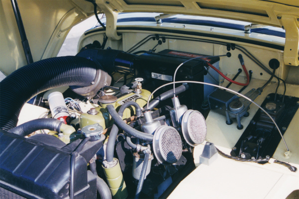 1960 AUSTIN-HEALEY SPRITE BUGEYE ROADSTER - Engine - 21046