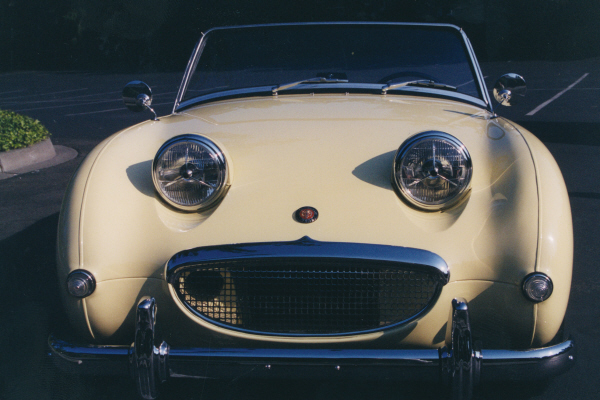 1960 AUSTIN-HEALEY SPRITE BUGEYE ROADSTER - Side Profile - 21046