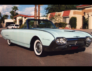 1961 FORD THUNDERBIRD CONVERTIBLE -  - 21052