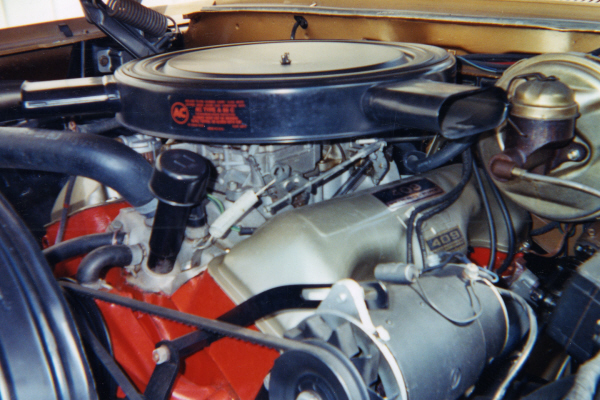 1962 CHEVROLET IMPALA SS CONVERTIBLE - Engine - 21054