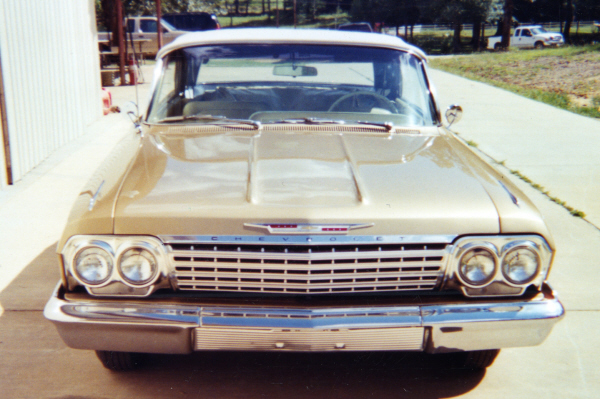 1962 CHEVROLET IMPALA SS CONVERTIBLE - Side Profile - 21054