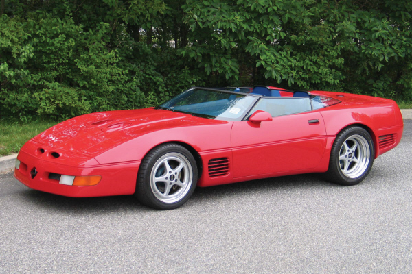 1990 Chevrolet Corvette Callaway Twin Turbo Super