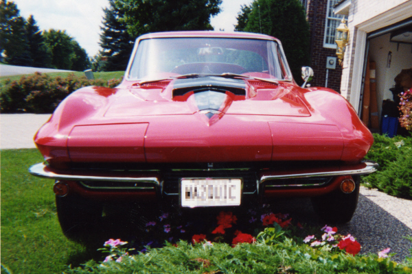 1967 CHEVROLET CORVETTE 427/435 COUPE - Side Profile - 21061