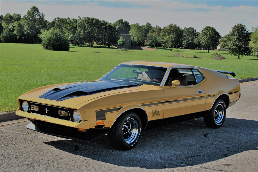 1971 FORD MUSTANG MACH 1 FASTBACK - 2106691971 Mustang Fastback Mach 1