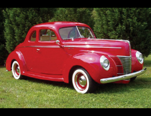 1940 FORD DELUXE CUSTOM 2 DOOR COUPE -  - 21075