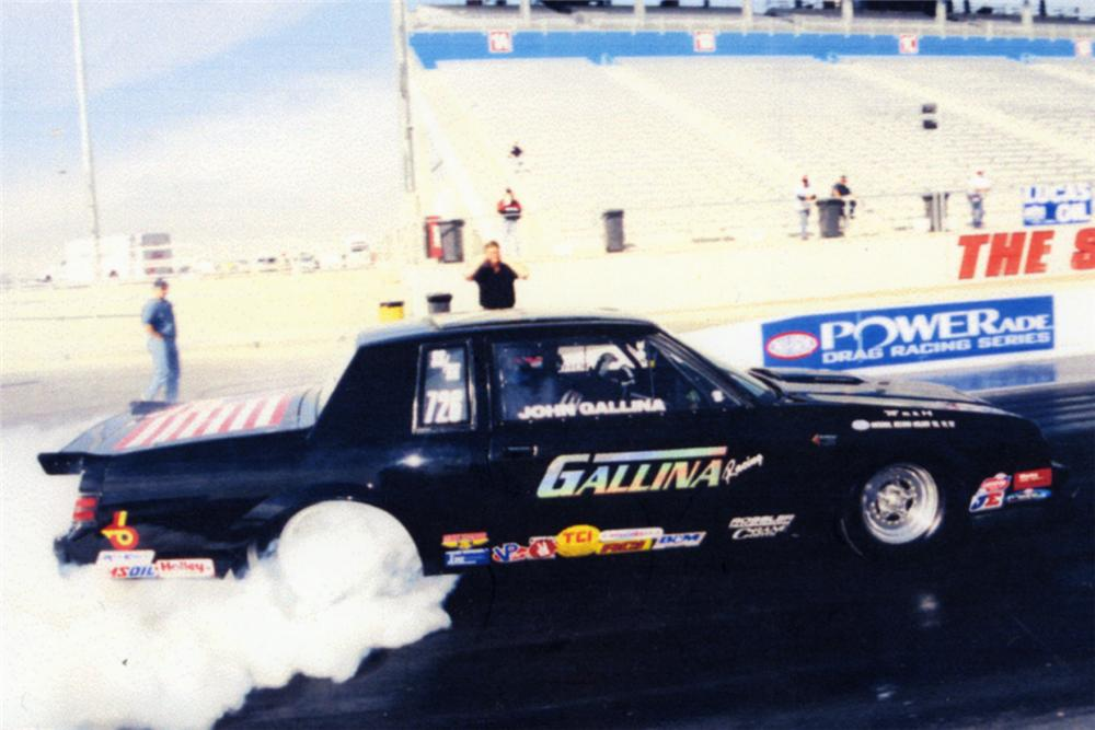 1987 BUICK REGAL GRAND NATIONAL NHRA RECORD HOLDING DRAG RACER - Engine - 21086