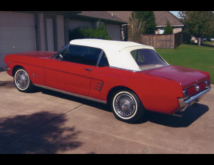 1966 FORD MUSTANG CONVERTIBLE -  - 21092