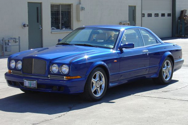 1998 BENTLEY CONTINENTAL T 2 DOOR HARDTOP - Front 3/4 - 21100