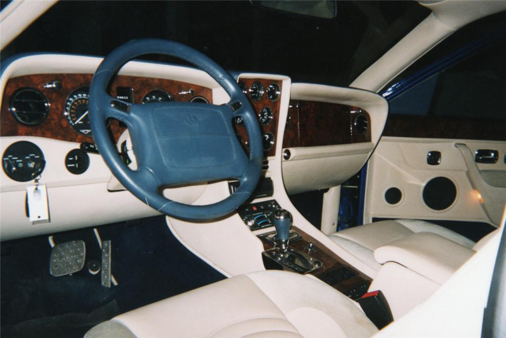 1998 BENTLEY CONTINENTAL T 2 DOOR HARDTOP - Interior - 21100