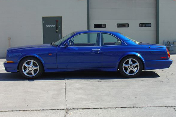 1998 BENTLEY CONTINENTAL T 2 DOOR HARDTOP - Side Profile - 21100