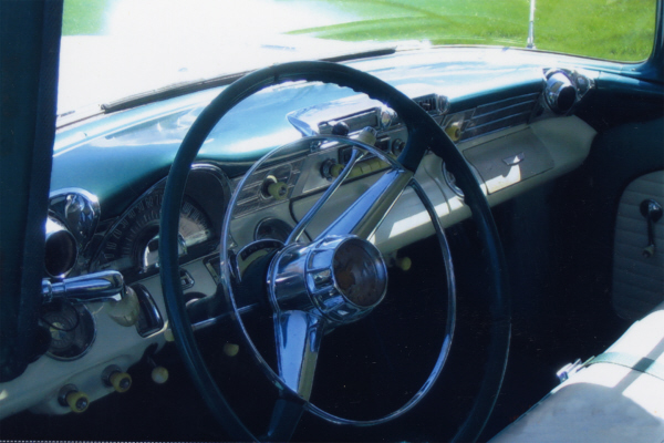 1956 PONTIAC CHIEFTAIN WAGON ONCE OWNED BY OZZIE & HARR - Interior - 21105