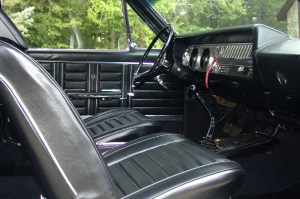 1967 OLDSMOBILE 442 W30 2 DOOR HOLIDAY COUPE - Interior - 21108