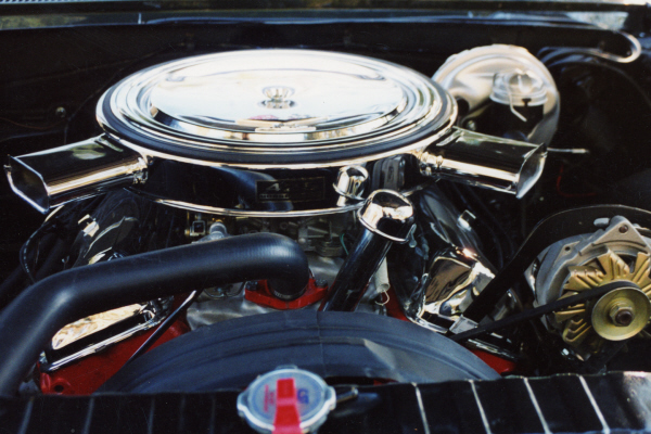1964 CHEVROLET IMPALA SS CONVERTIBLE - Engine - 21112