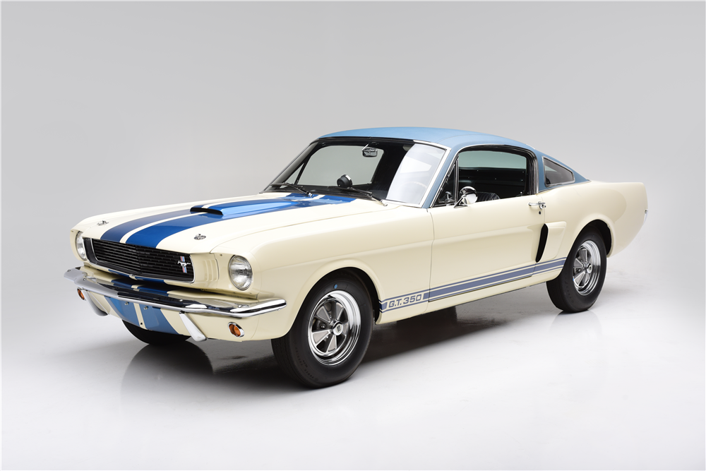 1966 SHELBY GT350 PROTOTYPE #001 - Front 3/4 - 211142