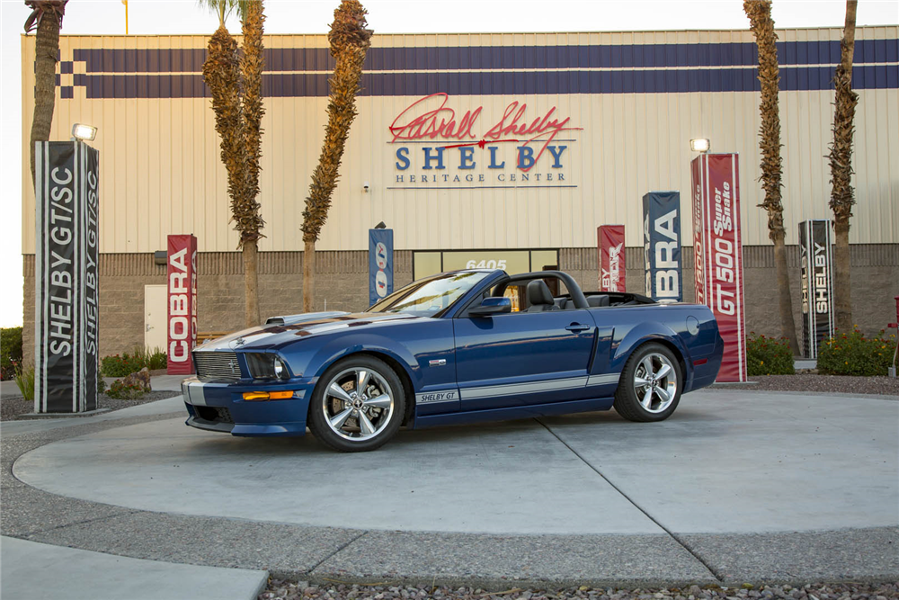2007 FORD SHELBY GT PROTOTYPE - Side Profile - 211162