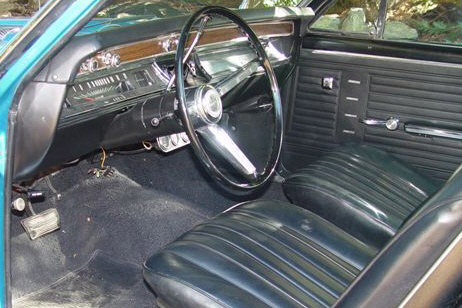 1967 CHEVROLET EL CAMINO PICKUP - Interior - 21119