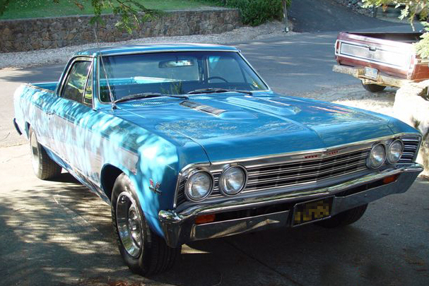 1967 CHEVROLET EL CAMINO PICKUP - Side Profile - 21119