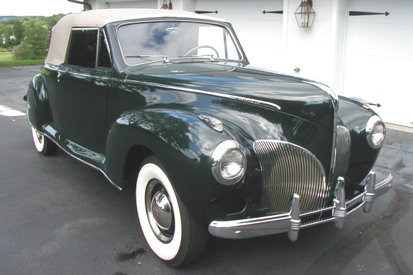 1941 Lincoln Zephyr 2 Door Convertible