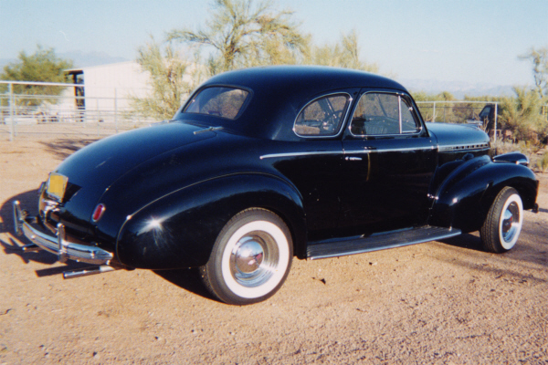 1940 CHEVROLET BUSINESS COUPE - Rear 3/4 - 21121