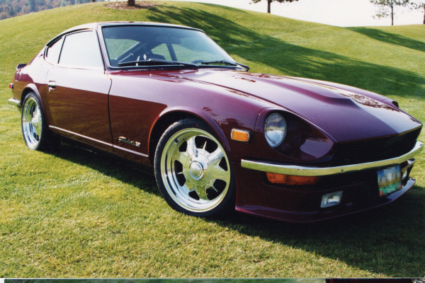 1971 DATSUN 240Z COUPE - Front 3/4 - 21122