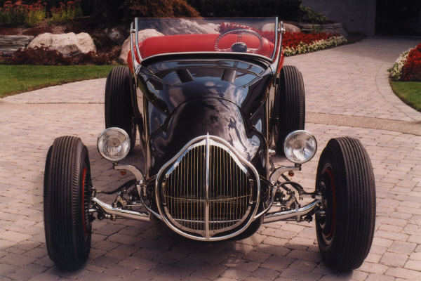 "1927 FORD HI-BOY TRACK ""T"" ROADSTER HOT ROD - Side Profile - 21134"