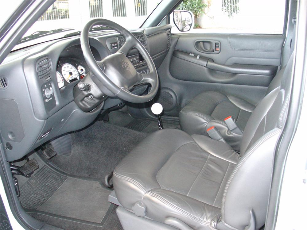 1998 CHEVROLET S-10 ZZ4.3 V6 EXTREME FROM - Interior - 21139