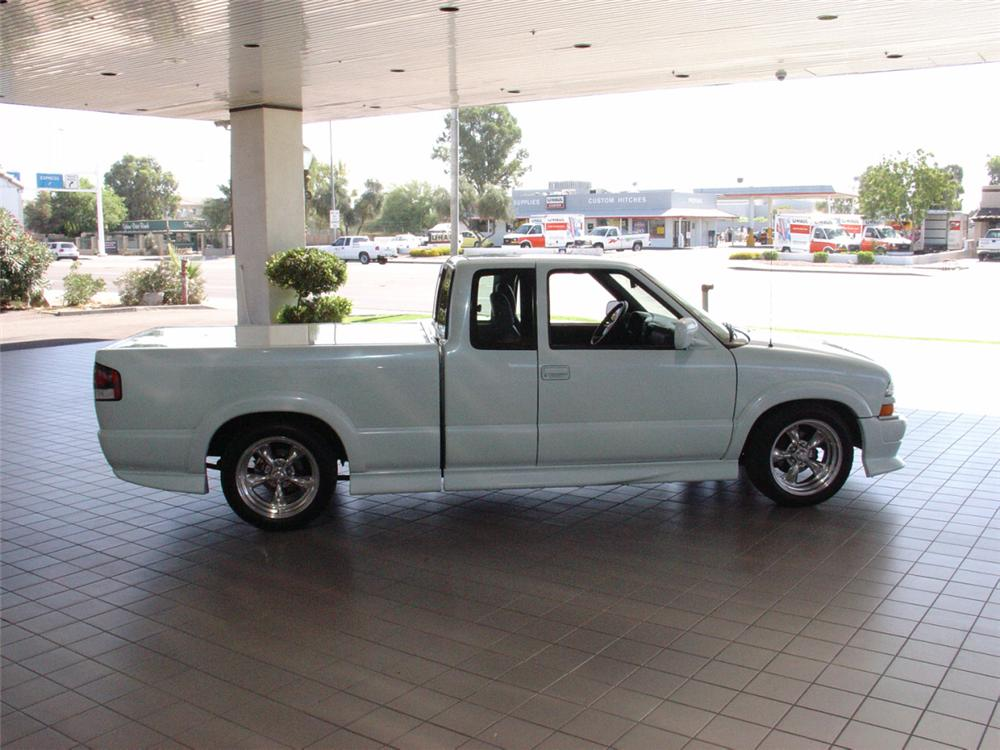 1998 CHEVROLET S-10 ZZ4.3 V6 EXTREME FROM - Side Profile - 21139