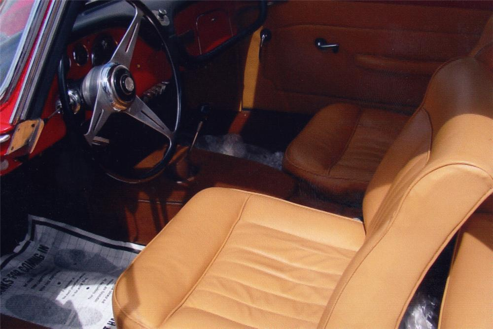 1968 JAGUAR XKE SERIES II ROADSTER - Interior - 21142
