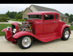 1931 FORD 5 WINDOW CUSTOM COUPE -  - 21153