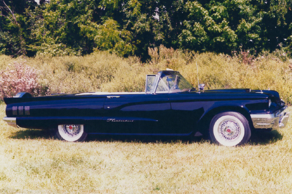 1960 FORD THUNDERBIRD CONVERTIBLE - Side Profile - 21171