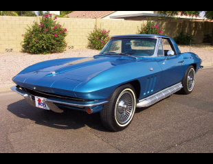 1965 CHEVROLET CORVETTE 327 CONVERTIBLE -  - 21182