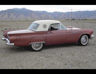 1957 FORD THUNDERBIRD CONVERTIBLE -  - 21190