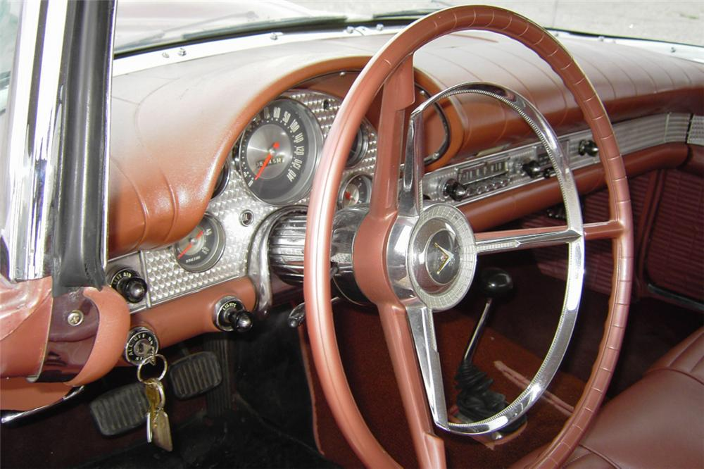 1957 FORD THUNDERBIRD CONVERTIBLE - Interior - 21190