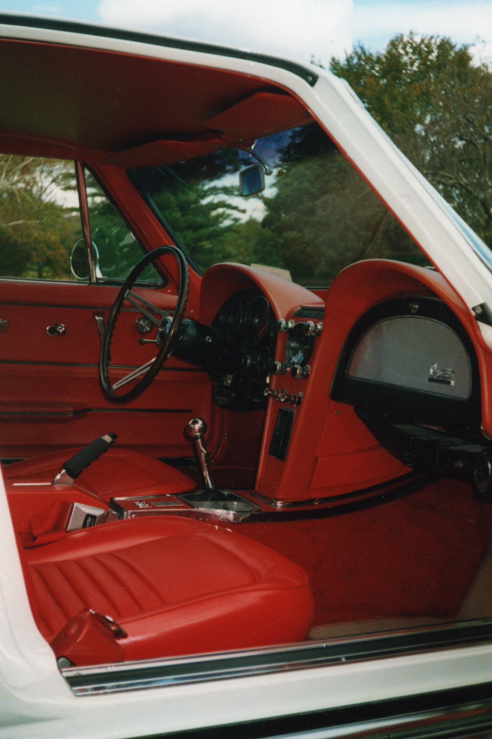 1967 CHEVROLET CORVETTE 427/390 COUPE - Interior - 21193