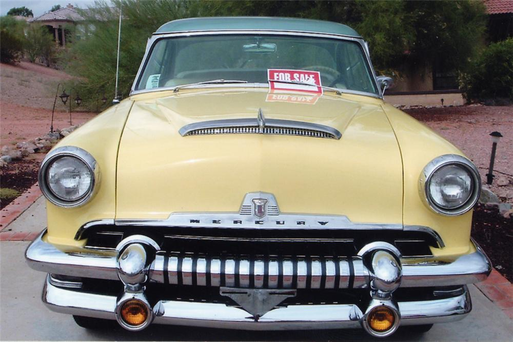 1954 MERCURY MONTEREY 2 DOOR HARDTOP - Side Profile - 21194