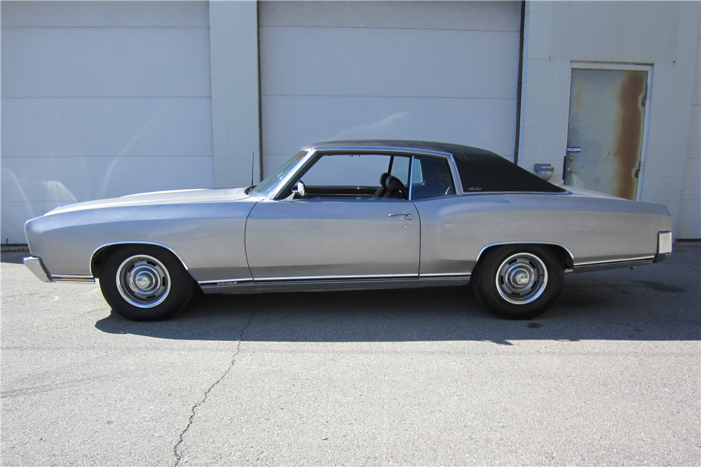 1970 CHEVROLET MONTE CARLO SS - Side Profile - 211975