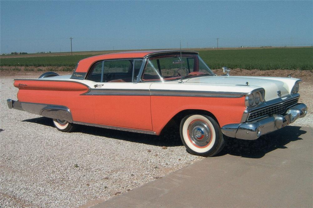 1959 FORD GALAXIE 500 RETRACTABLE - Front 3/4 - 21199
