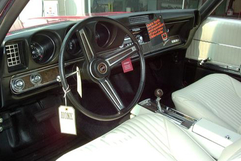 1969 OLDSMOBILE 442 W32 CONVERTIBLE - Interior - 21200
