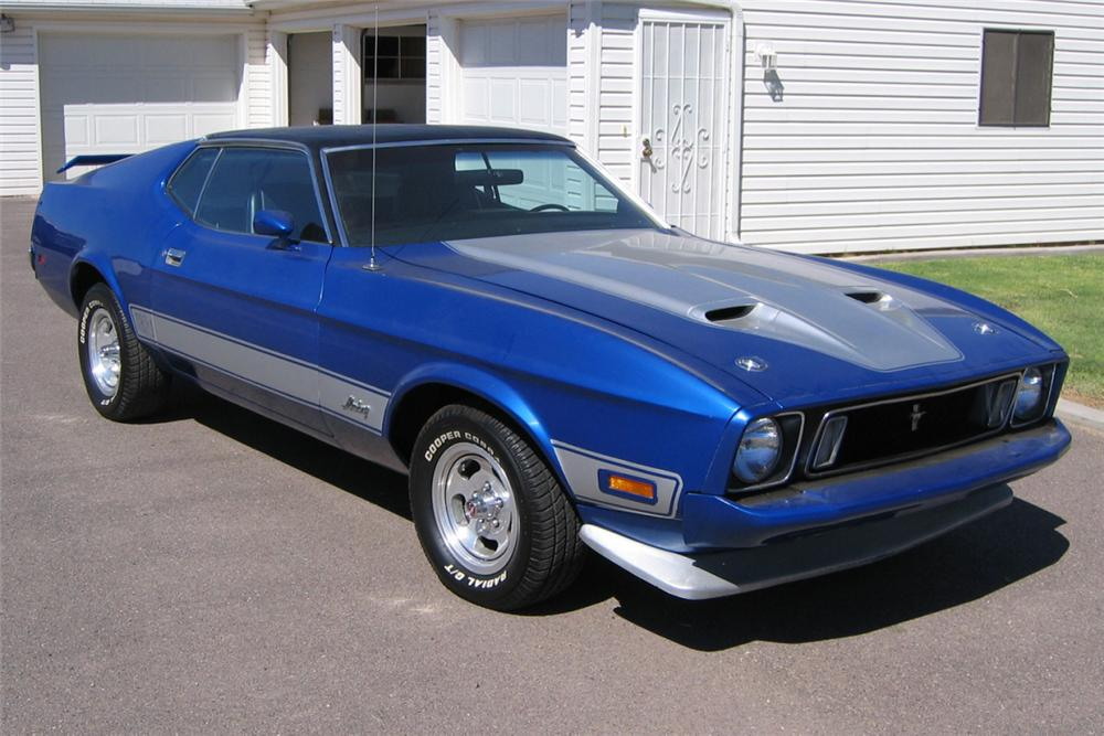 1973 ford mustang mach 1 fastback 21202. Black Bedroom Furniture Sets. Home Design Ideas