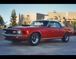 1970 FORD MUSTANG CONVERTIBLE -  - 21203