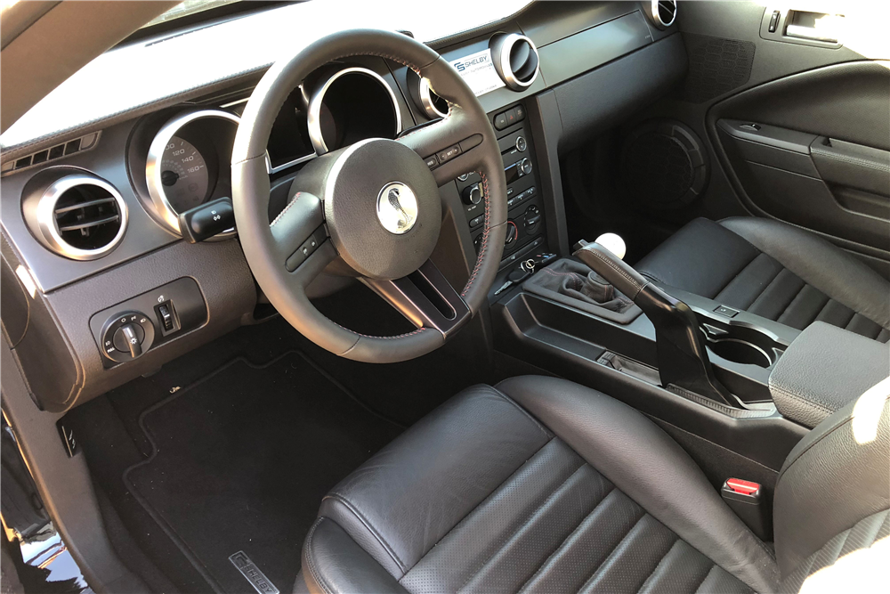 2008 FORD SHELBY GT500KR - Interior - 212057