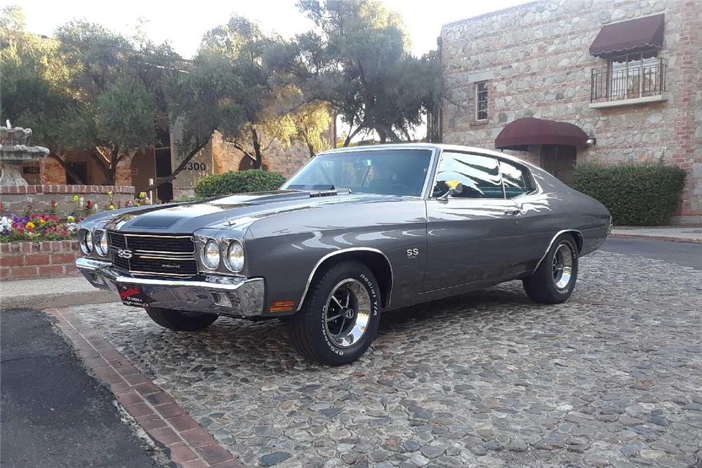 1970 CHEVROLET CHEVELLE - Front 3/4 - 212058