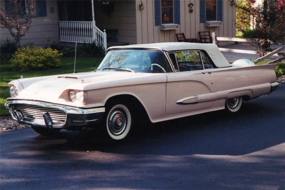 1959 FORD THUNDERBIRD CONVERTIBLE - Front 3/4 - 21210